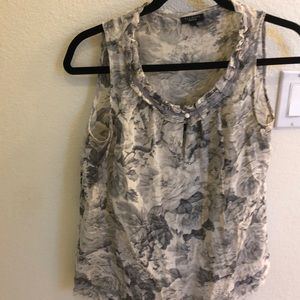 Tops - Talbots top with built in cami.